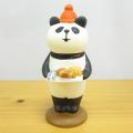 DECOLE(デコレ) concombre(コンコンブル) まったりマスコット やまねこベーカリーシリーズ パン好きパンダ