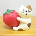 DECOLE(デコレ) concombre(コンコンブル) ストロベリーバレンタインシリーズ いちごLOVE猫