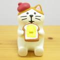 DECOLE(デコレ) concombre(コンコンブル) まったりマスコット やまねこベーカリーシリーズ トースト猫