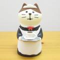DECOLE(デコレ) concombre(コンコンブル) まったりマスコット 純喫茶コンブルシリーズ ウェイトレス猫