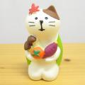 DECOLE(デコレ) concombre(コンコンブル) まったりマスコット 峠のだるま茶屋シリーズ 実りの秋猫