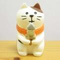 DECOLE(デコレ) concombre(コンコンブル) 開運 招福 松足神社 おでん猫