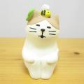 DECOLE(デコレ) concombre(コンコンブル) まったりマスコット イースターの庭シリーズ 春眠猫