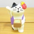 DECOLE(デコレ) concombre(コンコンブル) まったりマスコット 節分シリーズ 豆まき猫 紫