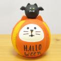 DECOLE(デコレ) concombre(コンコンブル) あっぱれNIPPONハロウィン ハロウィン猫だるま かぼちゃ