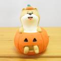 DECOLE(デコレ) concombre(コンコンブル) 秋の夜長のハロウィン縁日 子犬とかぼちゃ