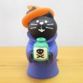 DECOLE(デコレ) concombre(コンコンブル) 秋の夜長のハロウィン縁日 魔女猫 ポイズン