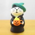 DECOLE(デコレ) concombre(コンコンブル) 秋の夜長のハロウィン縁日 魔女猫 かぼちゃラテ