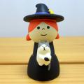 DECOLE(デコレ) concombre(コンコンブル) まったりマスコット HALLOWEEN PARADE 魔女と子猫