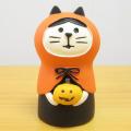 DECOLE(デコレ) concombre(コンコンブル) HALLOWEEN 黒猫カフェ ねこずきん かぼちゃ