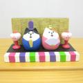 DECOLE(デコレ) concombre(コンコンブル) ひなまつり ミニ雛飾り 猫雛