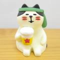 DECOLE(デコレ) concombre(コンコンブル) まったりマスコット 桜concombre 宴会猫