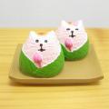 DECOLE(デコレ) concombre(コンコンブル) まったりマスコット 川辺のお花見シリーズ もち猫 桜餅