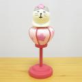 DECOLE(デコレ) concombre(コンコンブル) まったりマスコット お花見 春色スイーツ部シリーズ 子猫ぼんぼり