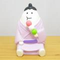 DECOLE(デコレ) concombre(コンコンブル) まったりマスコット お花見 春色スイーツ部シリーズ おすもうさん 花見団子