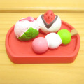 DECOLE(デコレ) concombre(コンコンブル) まったりマスコット お花見シリーズ 桜和菓子盆