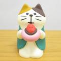 DECOLE(デコレ) concombre(コンコンブル) 旅猫 日本横断 桜めぐり旅 あまおう大福猫