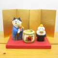 DECOLE(デコレ) concombre(コンコンブル) コンコンブルのお正月飾り 祝い酒鏡開き