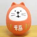 DECOLE(デコレ) concombre(コンコンブル) 2020子年 お正月 庚子 福ねずみ 陶器の干支飾り 福猫だるま