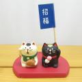DECOLE(デコレ) concombre(コンコンブル) まったりマスコット 甘党招き猫