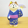 DECOLE(デコレ) concombre(コンコンブル) 七夕シリーズ 浴衣猫 天の川