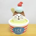 DECOLE(デコレ) concombre(コンコンブル) 雪猫アイス店シリーズ 冷え冷えカップアイス猫