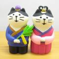 DECOLE(デコレ) concombre(コンコンブル) 七夕2019 織姫猫と彦星猫