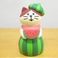 DECOLE(デコレ) concombre(コンコンブル) イカス スイカ天国 スイカの妖精猫