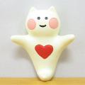DECOLE(デコレ) concombre(コンコンブル) kai 貝猫 neco クリオネコ(マグネット)