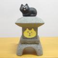 DECOLE(デコレ) concombre(コンコンブル) お月見 月見の宿 うさぎや旅館 猫灯籠