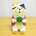 DECOLE(デコレ) concombre(コンコンブル) 2020五月飾り 柏餅猫