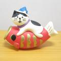DECOLE(デコレ) concombre(コンコンブル) 2019五月飾り 鯉のぼり猫