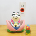 DECOLE(デコレ) concombre(コンコンブル) 2020五月飾り 桃太郎猫どんぶらこセット