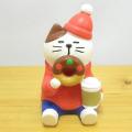 DECOLE(デコレ) concombre(コンコンブル) CHRISTMAS MARKET あじわいドーナツ猫
