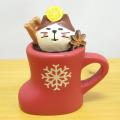 DECOLE(デコレ) concombre(コンコンブル) CHRISTMAS MARKET グリューワイン猫