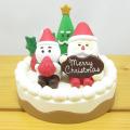 DECOLE(デコレ) concombre(コンコンブル) CHRISTMAS MARKET むしゃむしゃサンタケーキ