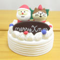 DECOLE(デコレ) concombre(コンコンブル) Merry CHRISTMAS concombre APPLE PARTY  猫とサンタケーキ