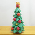 DECOLE(デコレ) concombre(コンコンブル) Merry CHRISTMAS concombre APPLE PARTY りすとりんごのツリー