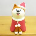 DECOLE(デコレ) concombre(コンコンブル) Merry CHRISTMAS concombre APPLE PARTY サンタわんこ