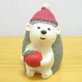 DECOLE(デコレ) concombre(コンコンブル) 森のクリスマス はりねずみ りんご