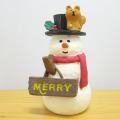 DECOLE(デコレ) concombre(コンコンブル) 森のクリスマス クリスマスの看板マスコット スノーマン