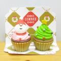 DECOLE(デコレ) concombre(コンコンブル) 洋菓子COMBRE  クリスマスミニケーキ(2個セット)