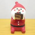DECOLE(デコレ) concombre(コンコンブル) 洋菓子COMBRE  冬太りサンタ むしゃむしゃケーキ