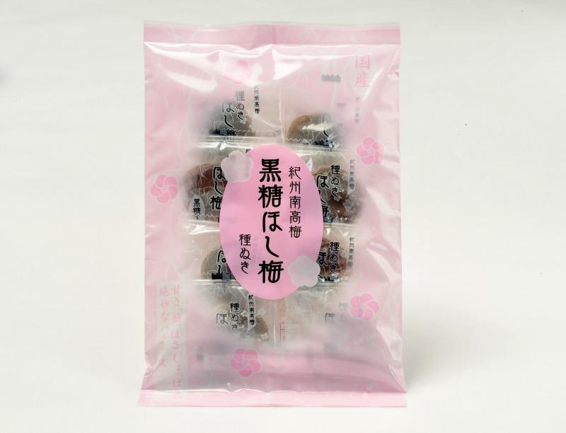 紀州南高梅 種ぬき黒糖ほし梅