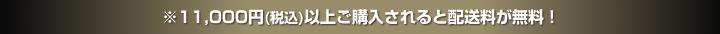 10,000円(税込)以上ご購入されると配送料が無料!