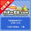 【お急ぎ】Facebook広告【パターン1】1個
