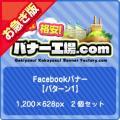 【お急ぎ】Facebook広告【パターン1】2個セット