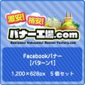 Facebook広告【パターン1】5個セット