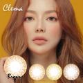 バービーアイ<度あり度なし>Clema(クレマ)ブラウン14.0mm 1年使用2枚