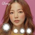 バービーアイ<度あり度なし>Glory(グローリー)グレー14.0mm 1年使用2枚